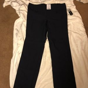 NWT Navy Blue Pants with large Elastic Banded Wais